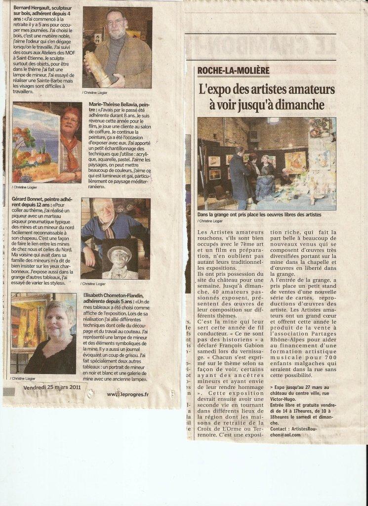 Article Expo Mine 2011 à Roche